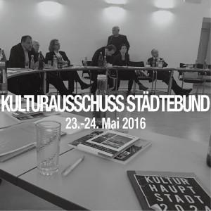 kulturausschuss staedtebund