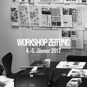 workshop zeitung